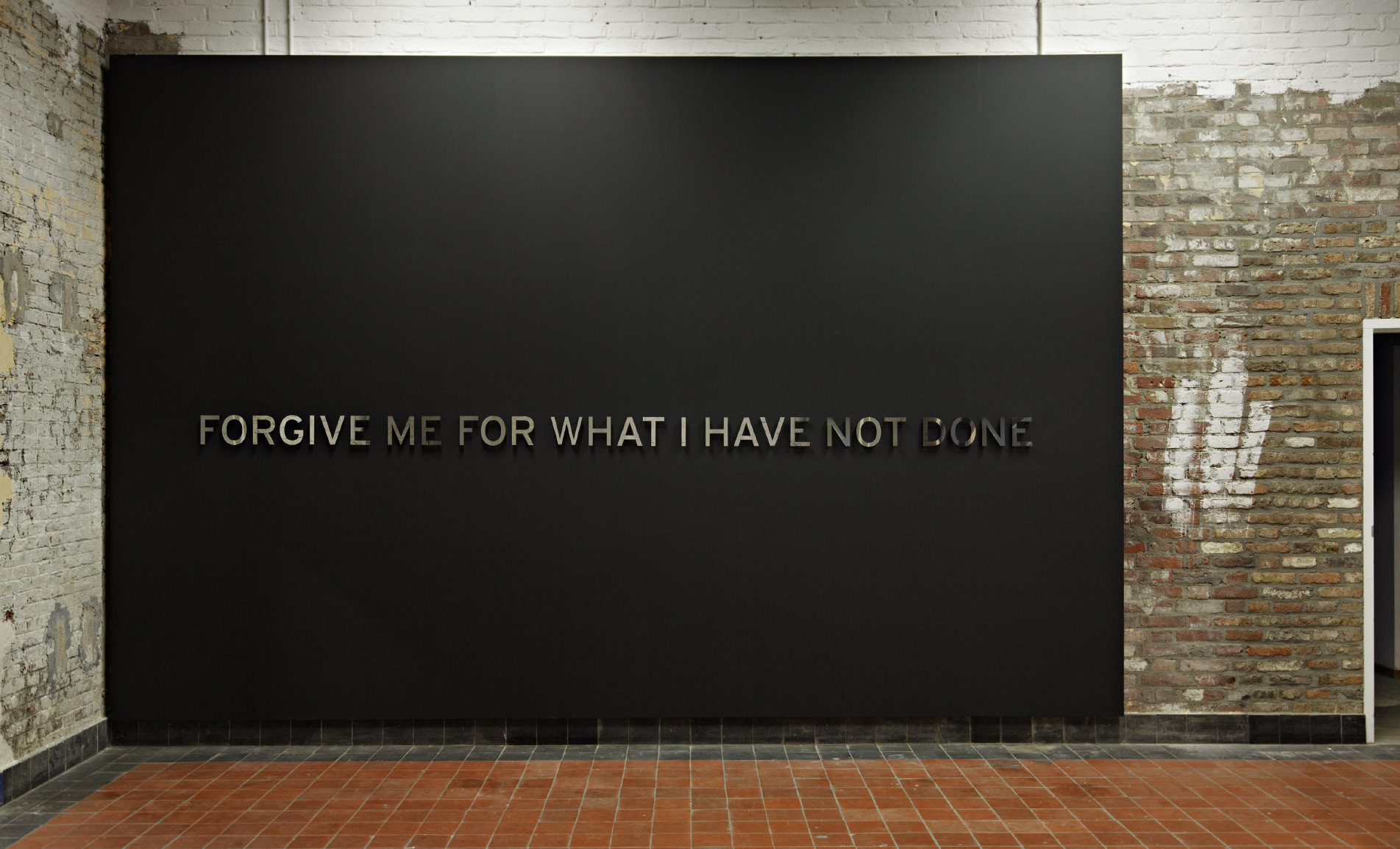 Forgive me for what I have not done, een opdracht van H+F Collection aan Otto Berchem