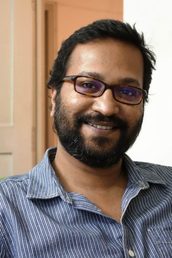 Indian artist Anup Mathew Thomas, winner of the 2015 Han Nefkens Foundation – BACC Award for Contemporary Art!