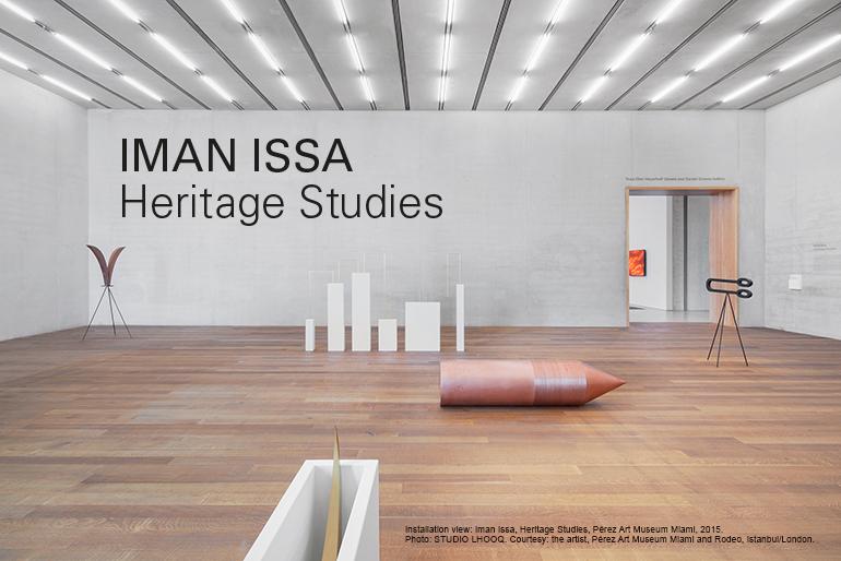 Iman Issa – Heritage Studies, an exhibition at MACBA, Barcelona