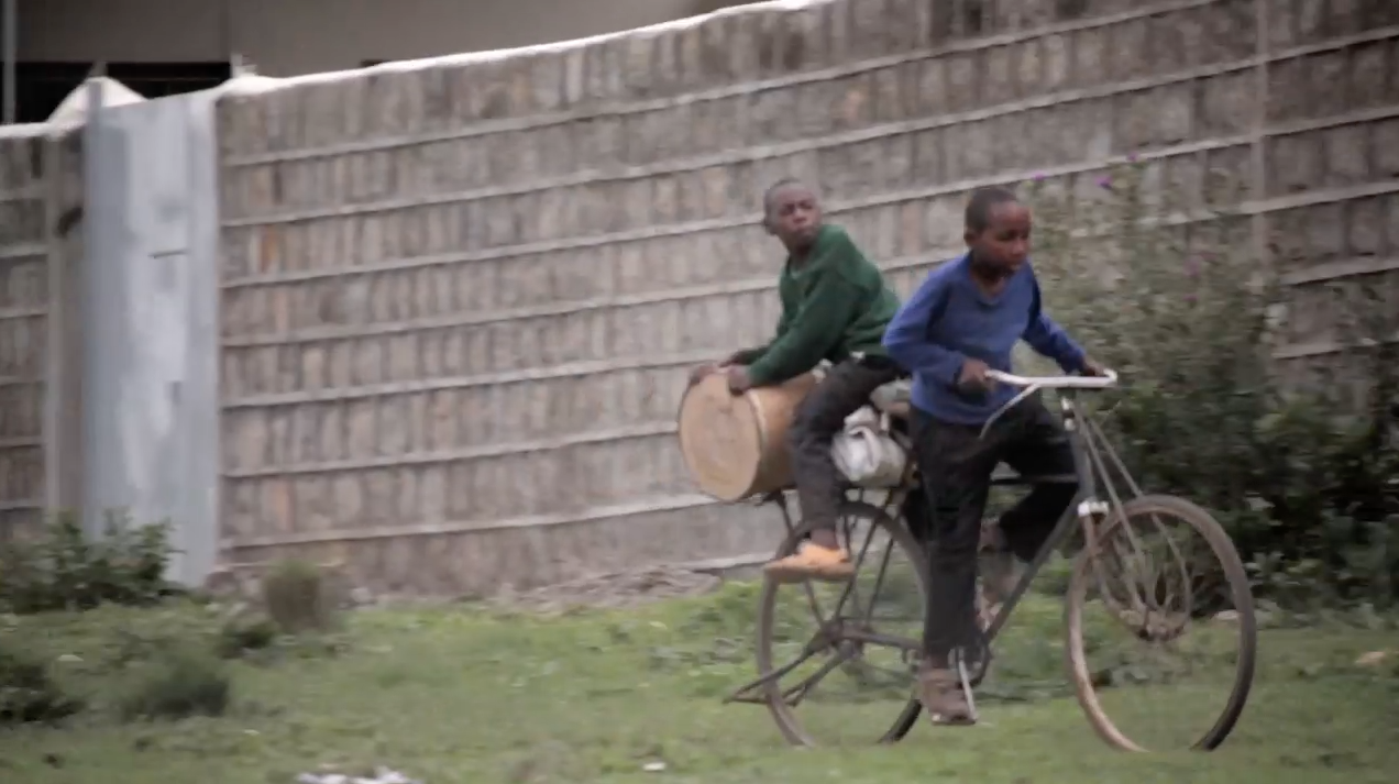 'The End of Black Mamba', a video by Cyrus Kabiru, will be shown at Beaufort 2015 in Belgium.