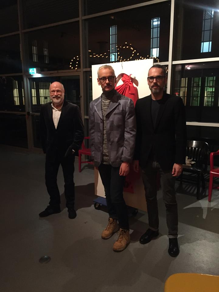 Viktor & Rolf surprise Han Nefkens with a wonderful present