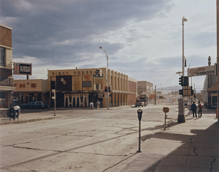 2nd. St. East and South Main Street, Kalispell, Montana, 8/22/1974