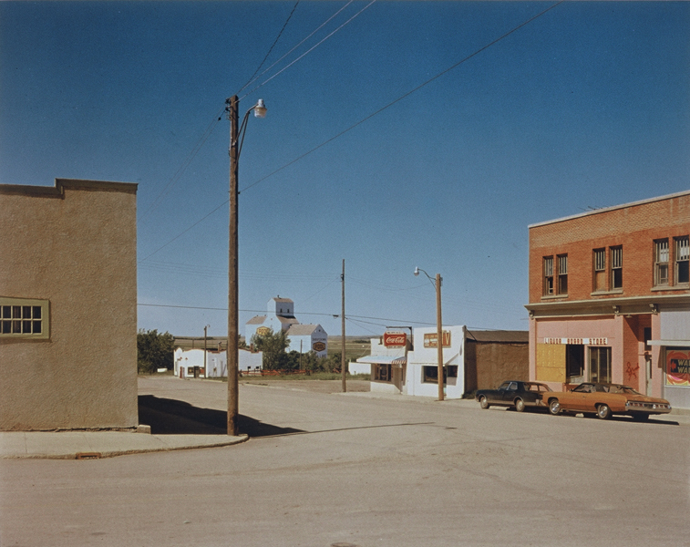 Main Street, Gull Lake, Saskatchewan, 8/17/1974