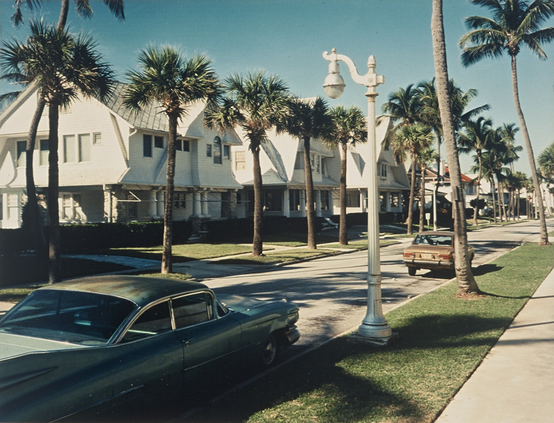 Sunset Avenue, Palm Beach, Florida, 10/28/1973